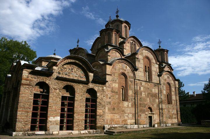 世界遺産のコソボの中世建造物群の中の1つ