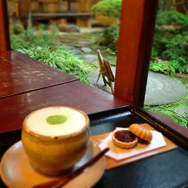 自由が丘でタイムスリップ。古民家カフェ「古桑庵」がまるで昭和の心地よさ