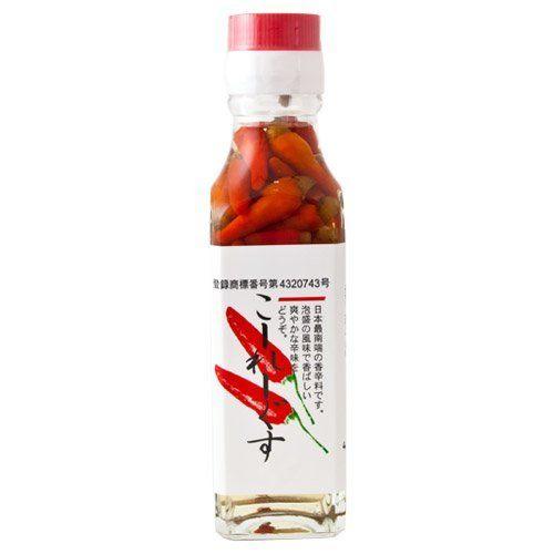 コーレーグース 沖縄産調味料(瓶詰) 120ml