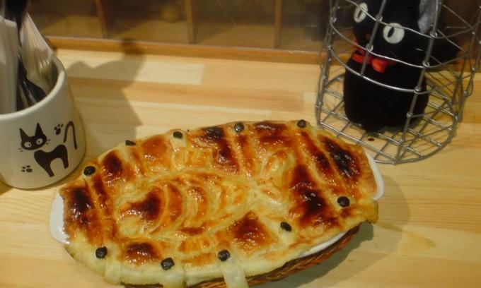 おばあちゃんと焼いたニシンのパイ