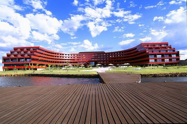 ビーチがないブラジリアでのんびりゆっくりできるホテル