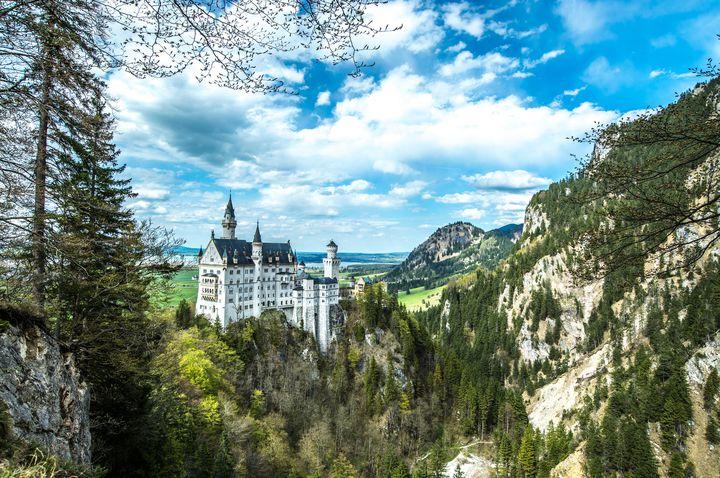シンデレラ城のモデル!?ドイツにある「ノイシュバンシュタイン城」が美し過ぎる!