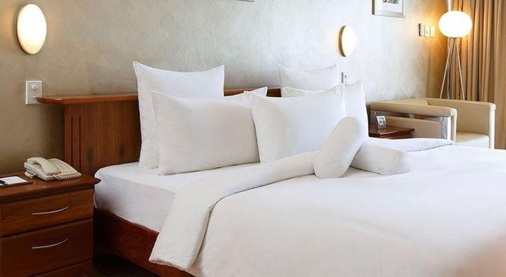 ふわふわベッドで過ごすポートモレスビー