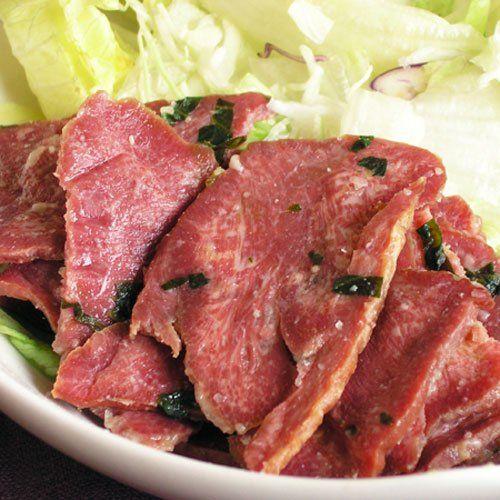 牛たん炭焼利久 牛たんスモークスライスわさび味 (100g)