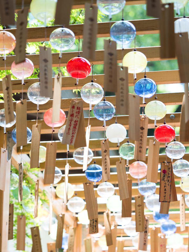 浴衣を着て行きたい!川越氷川神社で「風鈴まつり」開催