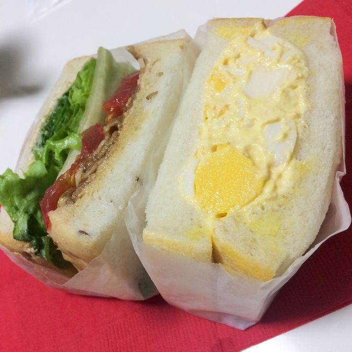 """こんなサンドイッチ見たことない!話題の最新施設で食べる""""和風サンドイッチ""""とは"""