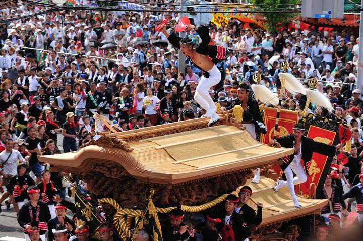 【終了】大迫力のアツすぎる秋祭り!大阪の「岸和田だんじり祭り」とは