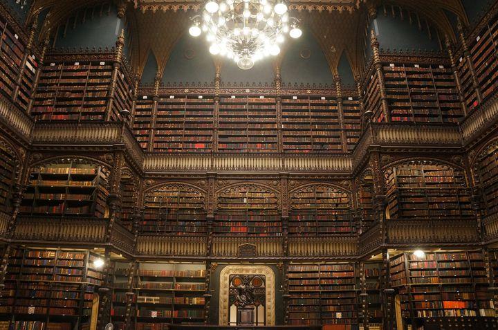 """まるで魔法学校!本に一切触れられない""""幻想図書館""""が美しすぎる"""