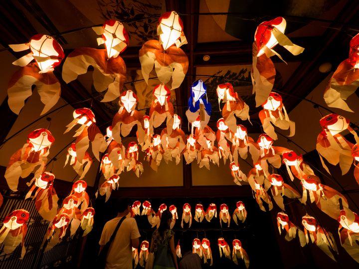"""【終了】街中に沢山の金魚が舞う!山口県の""""柳井金魚ちょうちん祭り""""とは"""