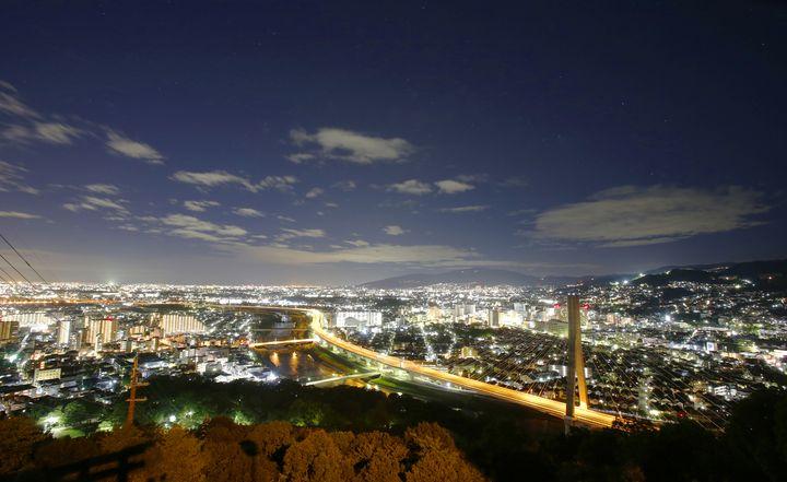 大阪 夜景 五月平展望台下