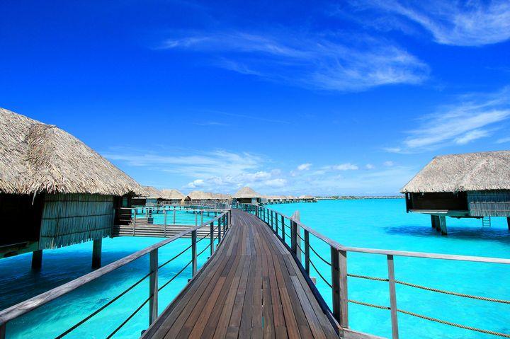 地上で最も美しい絶景アイランド!タヒチの「ボラボラ島」は天国の島だった