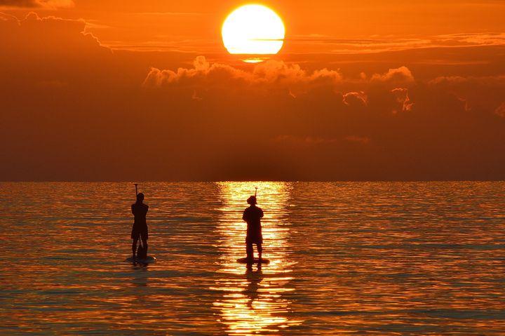 """2015年ブレイクの予感?海の上を""""散歩する""""新感覚マリンスポーツとは"""