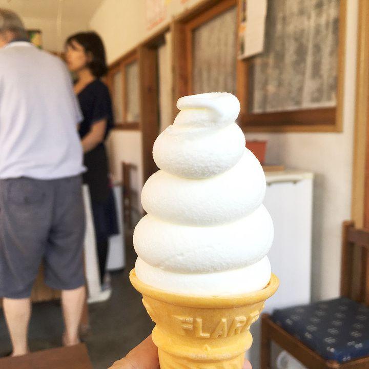 名前のない人気店!「扇町喫茶」の夏限定ソフトクリームが絶品だと話題