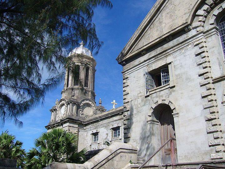 人気の観光スポットセントジョンズ大聖堂です。