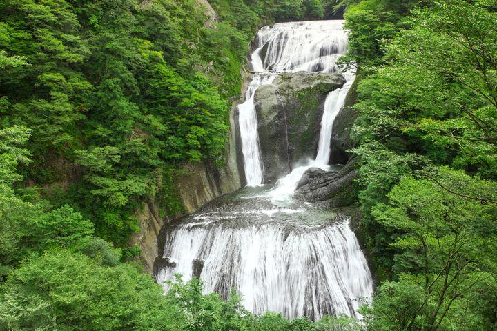 """この迫力に、勝るものはあるか。日本三名瀑""""袋田の滝""""の力強い絶景が話題"""