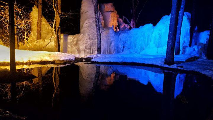 飛騨高山の冬絶景!秋神温泉 氷点下の森のライトアップが美しすぎる
