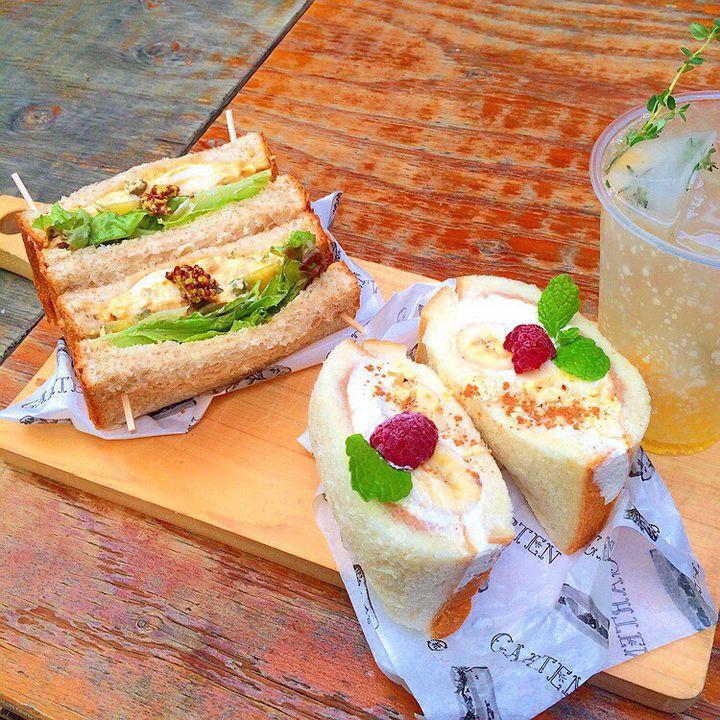 パンの間に季節を挟んだ!表参道のおしゃれサンドイッチ屋「ガルテン」