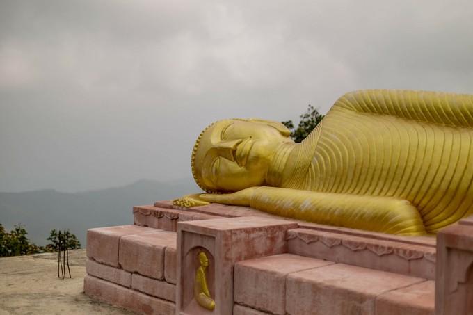 サムイ島のランドマークである黄金のビッグ・ブッダ寺院