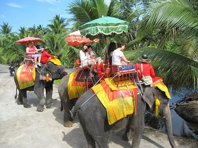 結構連続で象乗りをさせるので、途中で渋滞するのは目をつぶっていただきたいところ。