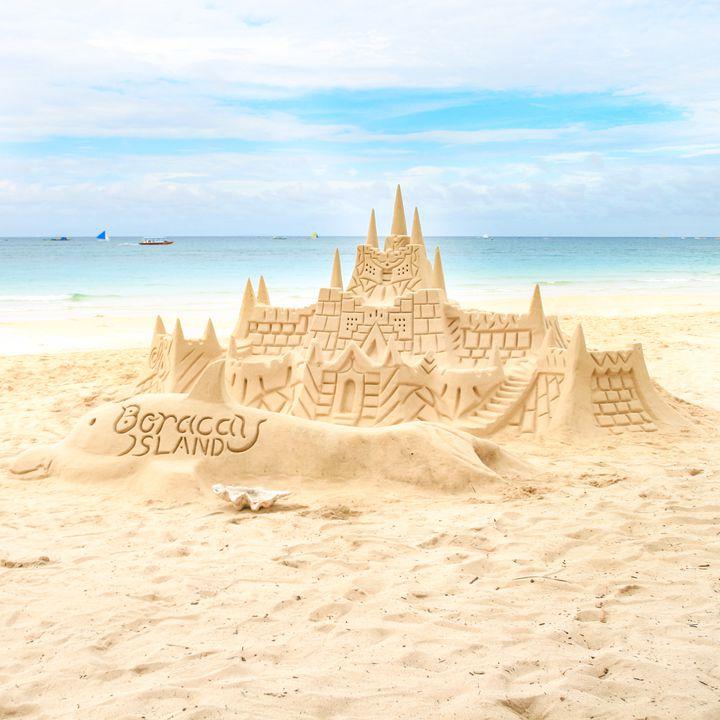 ボラカイ島でしか見られない!子供達が作るサンドアートが凄すぎる
