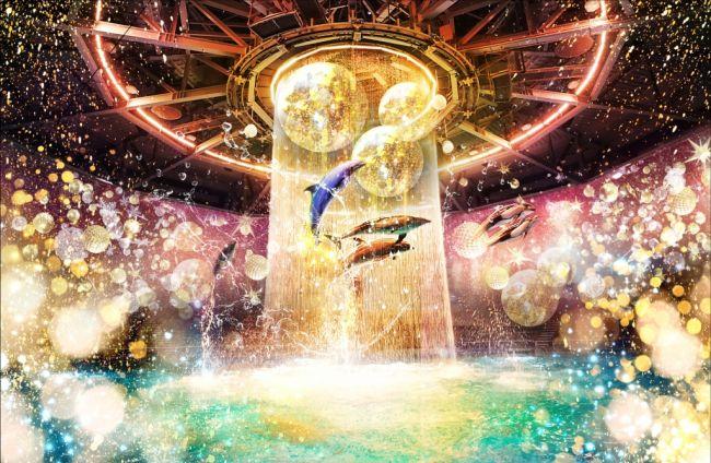 【終了】最先端技術×ドルフィンショー!「アクアパーク品川」でクリスマスイベント開催