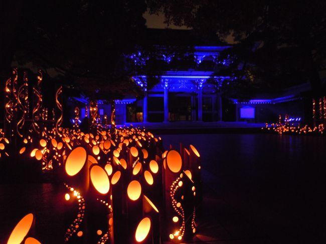 【終了】光輝く夜景遺産。5日間限定の「博多ライトアップウォーク」開催