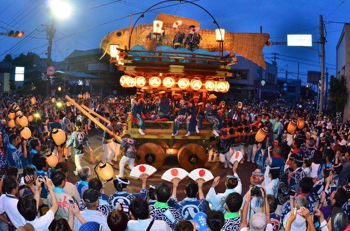 【4月開催予定】ユネスコ無形文化遺産登録!圧倒的な迫力の関東三大祭「佐原の大祭」