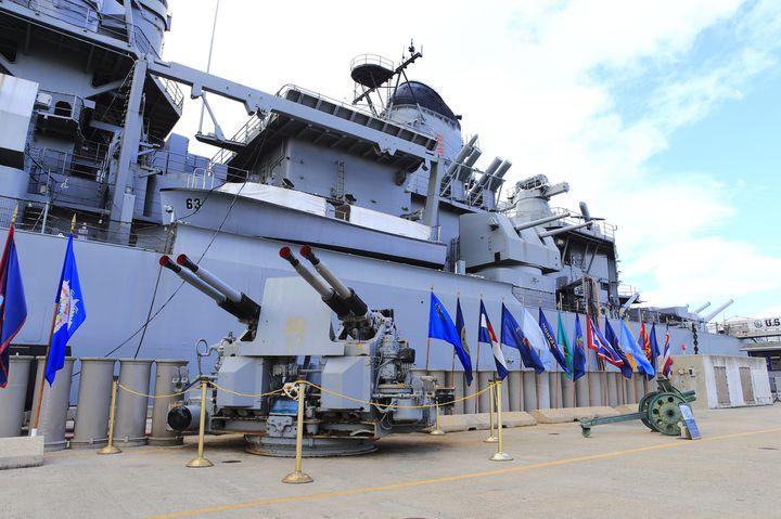 米海軍最後のバトルシップ「戦艦ミズーリ記念館」神風アタックと真珠湾