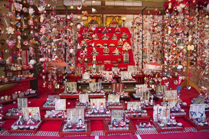 【終了】1000体以上もの雛人形が集結!目黒雅叙園で「百段雛まつり」開催