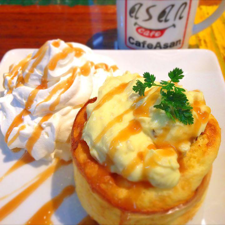 そこは、少年の夢。末広町の「Cafe ASAN」でハンモックに揺られ甘味に溺れる