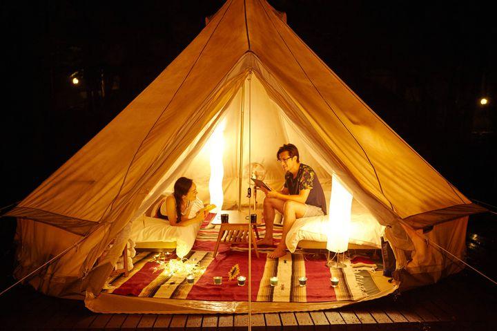 星空の下で贅沢キャンプを!冬こそ行きたい日本全国のグランピング施設10選