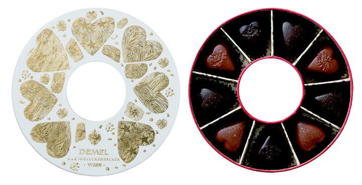 パッケージまで魅力的!老舗洋菓子店「デメル」からバレンタイン限定商品登場