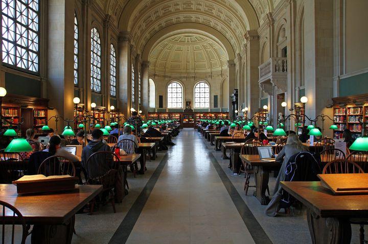 本当に図書館?ボストン公共図書館がまるで美術館みたいで素敵なんです!
