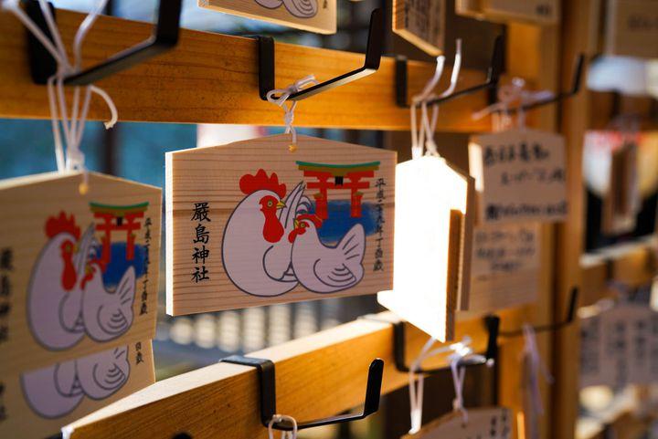 ちょっと遅めのお正月を宮島で、ご利益スポット巡り。