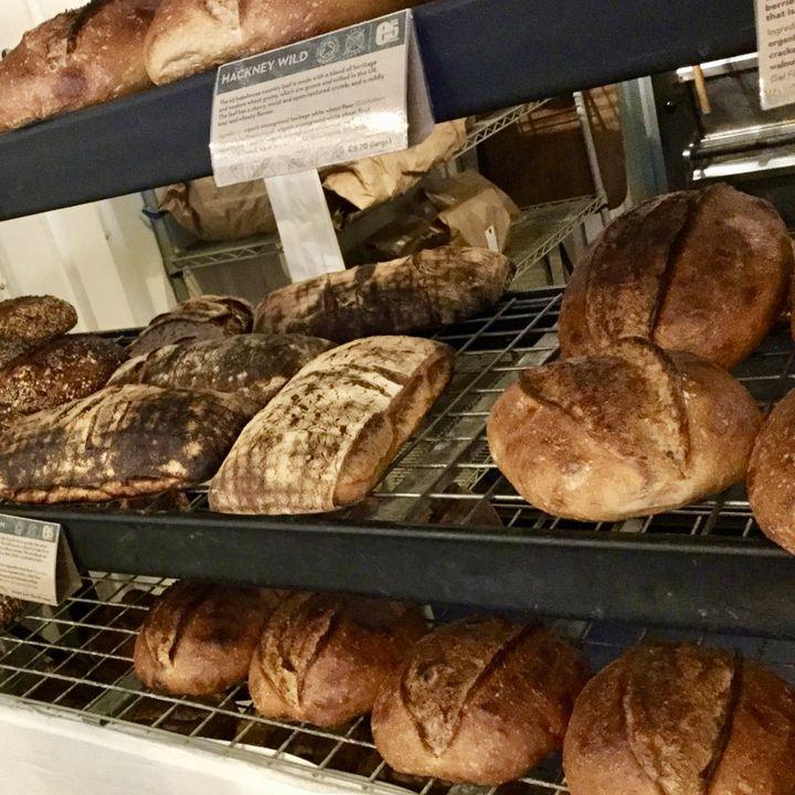ロンドンの美味しいパン巡り