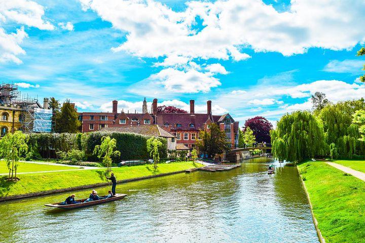 ケンブリッジの歴史を支えたケム川!ケム川と周辺の景色がとってもかわいい!