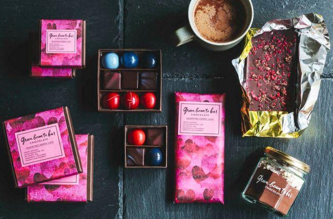 今すぐ欲しい!「グリーンビーントゥバーチョコレート」からバレンタイン商品登場