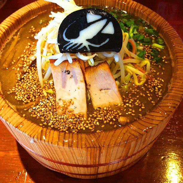 """木桶で食べるラーメン!小田原グルメの新定番""""鯵壱北條。""""がスゴイ"""