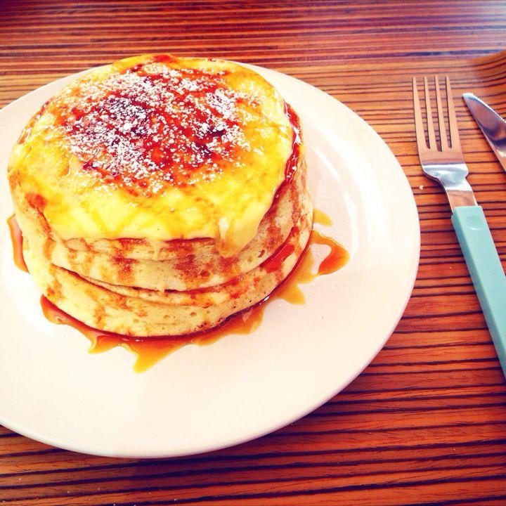 """とろ〜り食感が堪らない!ブリュレパンケーキで話題の""""eggg Cafe""""とは"""