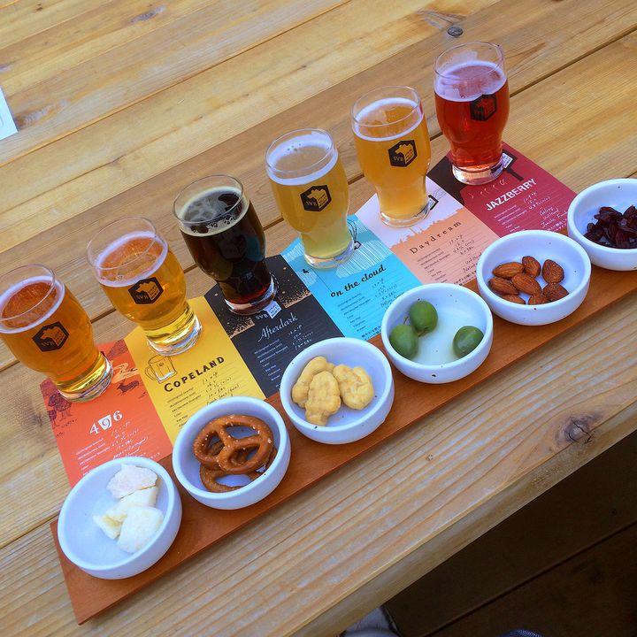 6色のクラフトビール!代官山「スプリングバレーブルワリー」で大人の時間を