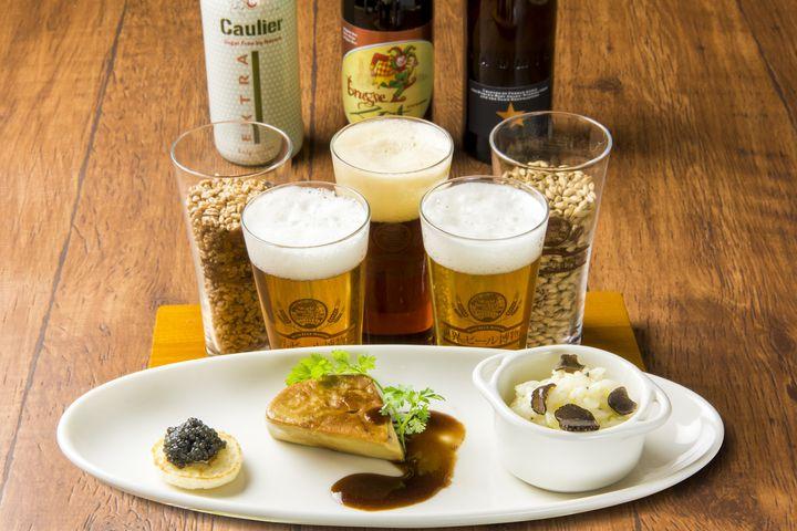 【終了】世界三大珍味×ビール!「世界のビール博物館」から驚きのマリアージュ登場