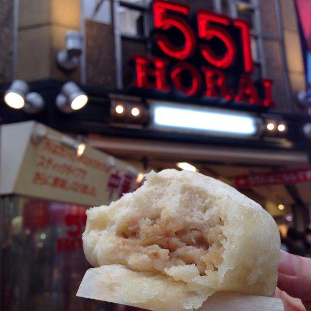 大阪に行ったらマストで食べたい!「551蓬莱」の豚まんがとにかく絶品
