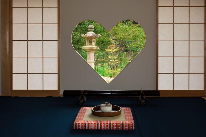 """乙女心揺さぶる""""ハートの窓""""。京都で密かに話題の絶景「正寿院」とは"""
