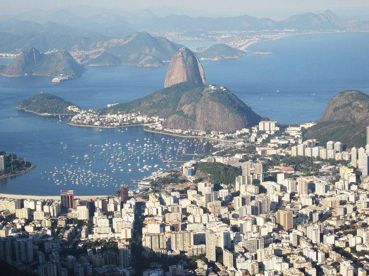 ブラジルの世界遺産「リオ デ ジャネイロ!山と海との間のカリオカの景観群」
