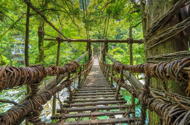 大自然でスリリングな思い出を!あえて行きたい徳島・三好の観光スポット7選