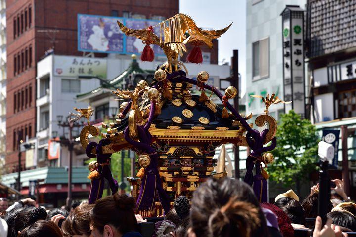 【終了】毎年100万人以上を動員!浅草神社の伝統祭り「三社祭」とは