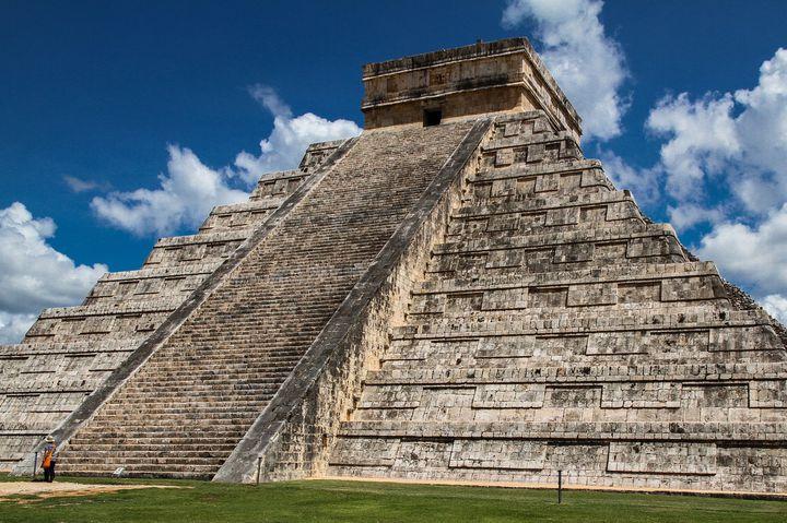 マヤ遺跡に野生のフラミンゴ!観光の拠点はメキシコのメリダへ!