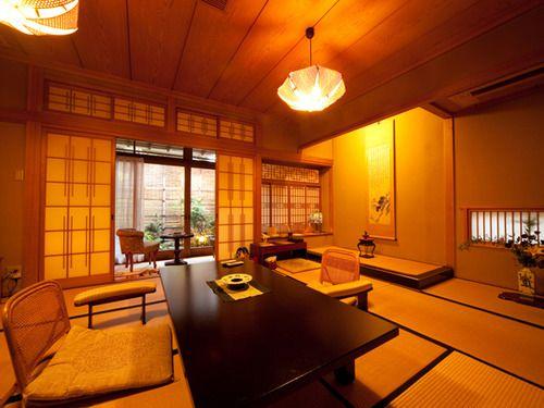 全6室の客室は、数寄屋造りの和室です。