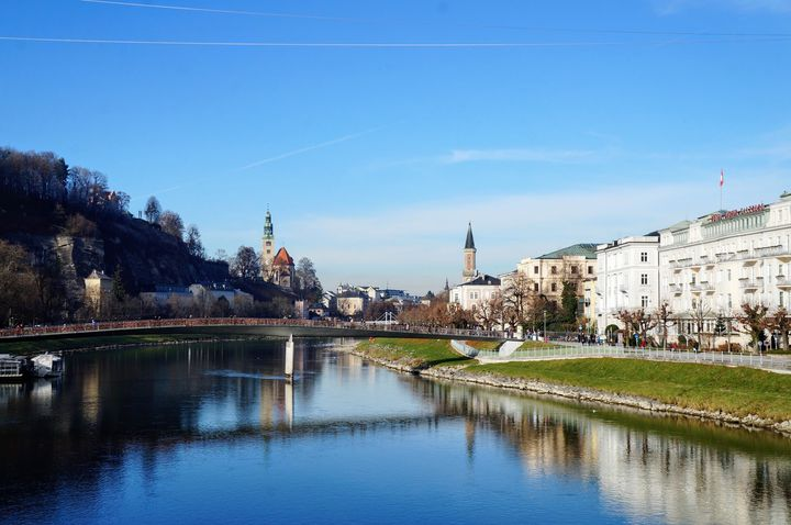 【一度は行きたい】オーストリア ザルツブルク♪♪街中が世界遺産!!