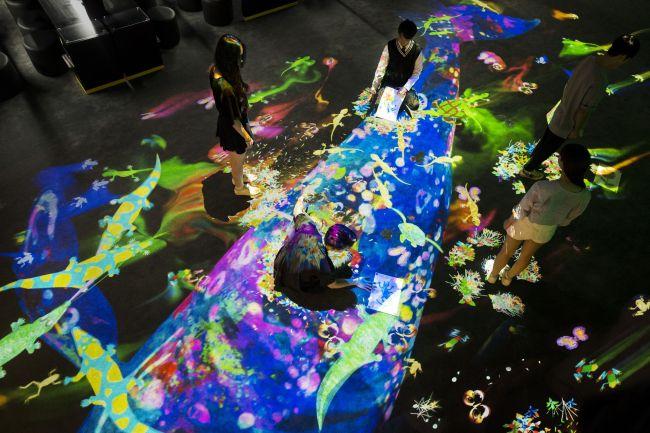 【終了】チームラボがハワイで開催される国際芸術祭「ホノルル・ビエンナーレ2017」に、デジタルアート作品を展示中